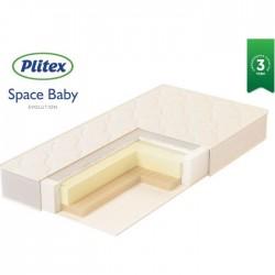 Детский матрас Plitex Evolution Space Baby 120*60 см