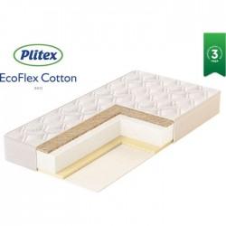 Детский матрас Plitex EcoFlex Cotton 120*60 см