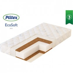 Матрас Plitex Eco Soft 120*60 см