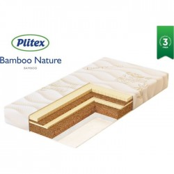 Матрас Plitex Bamboo Nature 125*65 см