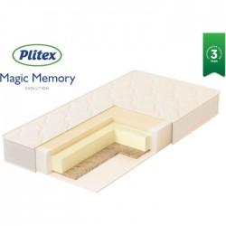Детский матрас Plitex Evolution Magic Memory 125*65 см