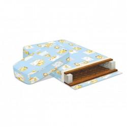 Матрац Наше Солнышко из двух частей для кроватки трансформера