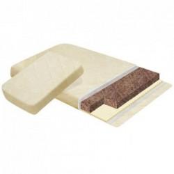 Двойной матрац для кроватки трансформера Наше Солнышко