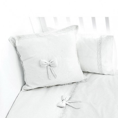 Подушка 40x40 см Fiorellino Premium Baby White