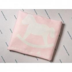 Плед-одеяло Makkaroni Kids Лошадка 90*90 см