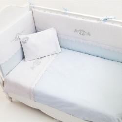 Сменное бельё Fiorellino Premium Baby White 3 предмета