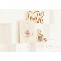 Комплект постельного белья Makkaroni Kids Bunny 3 пр сатин