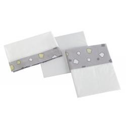 Сменный комплект белья 120х60 Micuna Dinus Plus Grey TX-821