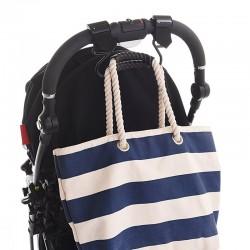 Крепление для сумок на ремнях Buggygear Matte Black Lux