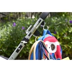 Крепление для сумок на ремнях Buggygear Black
