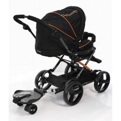 Универсальная подножка для второго ребенка Bumprider pink 51291-08