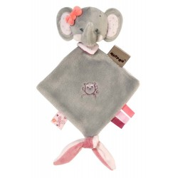 Мягкая игрушка малая Nattou Adele&Valentine Doudou Слоник 424141