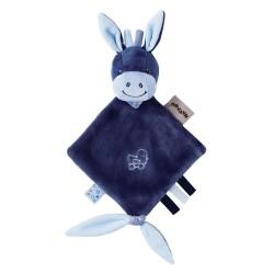 Мягкая игрушка малая Nattou Alex&Bibou Doudou Ослик 321136