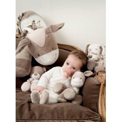 Мягкая игрушка малая Nattou Max, Noa & Tom Doudou Мишка 777155