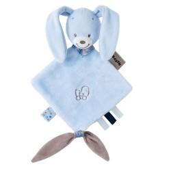 Мягкая игрушка малая Nattou Alex&Bibou Doudou Кролик 321129