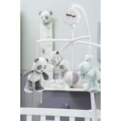 Мягкая игрушка малая Nattou Loulou, Lea & Hippolyte Doudou Бегемот 963190