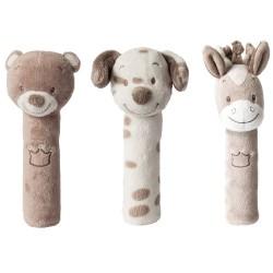 Мягкая игрушка Nattou Max, Noa & Tom Cri-Cris в ассортименте 777148