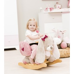 Мягкая игрушка Nattou Nina, Jade & Lili Cri-Cris Кролик 987134