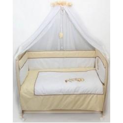 Комплект в детскую кроватку 7 предметов Bombus (Топтыжка) «Дельфинчик»