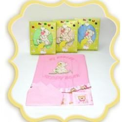 Комплект в детскую кроватку 3 предмета Bombus (Топтыжка) «Тедди Бир»