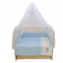 Комплект в детскую кроватку 7 предметов Bombus (Топтыжка) «Звездочка»