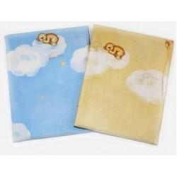Комплект в детскую кроватку 3 предмета Bombus (Топтыжка) «Лунный мишка»