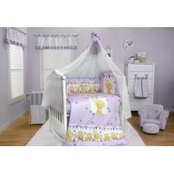 Комплект в детскую кроватку 7 предметов Bombus (Топтыжка) «Мишаня»