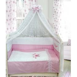 Комплект в детскую кроватку 7 предметов Bombus (Топтыжка) «Абэль»