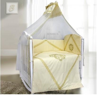 Комплект в детскую кроватку 7 предметов Bombus (Топтыжка) «Виконт»