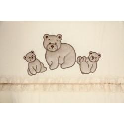Комплект в детскую кроватку 7 предметов Bombus (Топтыжка) «Медвежата»