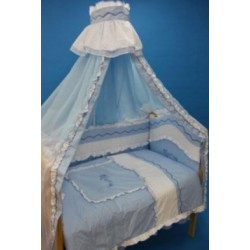 Комплект в детскую кроватку 8 предметов Bombus (Топтыжка) «Изабель»