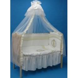 Комплект в детскую кроватку 8 предметов Bombus (Топтыжка) «Королевский»