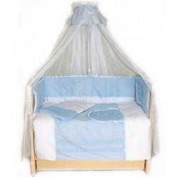 Комплект в детскую кроватку 7 предметов Bombus (Топтыжка) «Кроха»