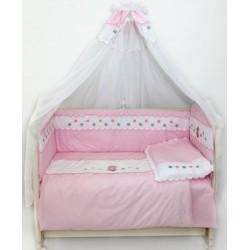 Комплект в детскую кроватку 7 предметов Bombus (Топтыжка) «Ксюша»
