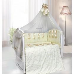 Комплект в детскую кроватку 7 предметов Bombus (Топтыжка) «Нежность»