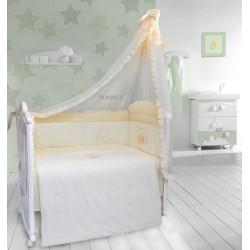 Комплект в детскую кроватку 7 предметов Bombus (Топтыжка) «Светик»