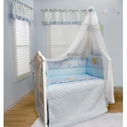 Комплект в детскую кроватку 6 предметов Bombus (Топтыжка) «Соня»