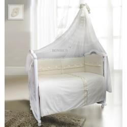 Комплект в детскую кроватку 7 предметов Bombus (Топтыжка) «Стефания»
