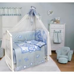 Комплект в детскую кроватку 7 предметов Bombus (Топтыжка) «Топтыжка»