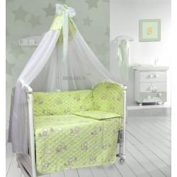 Комплект в детскую кроватку 6 предметов Bombus (Топтыжка) «Универсальный»