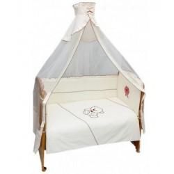 Комплект в детскую кроватку 7 предметов Bombus (Топтыжка) «Праздничный»