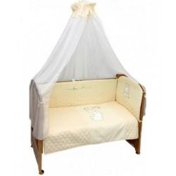 Комплект в детскую кроватку 7 предметов Bombus (Топтыжка) «Сафари»