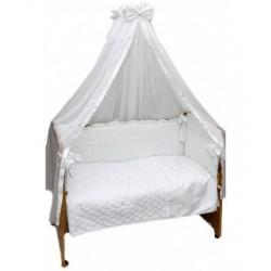 Комплект в детскую кроватку 6 предметов Bombus (Топтыжка) «Серебряные сны»