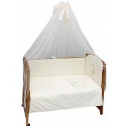 Комплект в детскую кроватку 7 предметов Bombus (Топтыжка) «Слонята»
