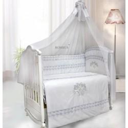 Комплект в детскую кроватку 7 предметов Bombus (Топтыжка) «Инфанта»