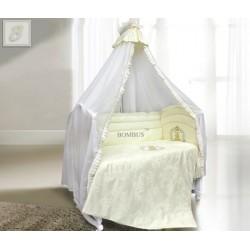 Комплект в детскую кроватку 7 предметов Bombus (Топтыжка) «Королевский»