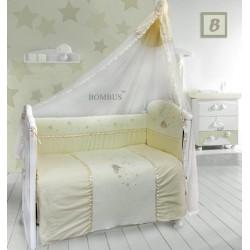 Комплект в детскую кроватку 7 предметов Bombus (Топтыжка) «Малышок»