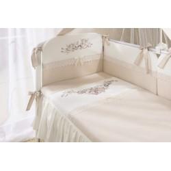 Комплект в детскую кроватку Perina «Эстель» 6 предметов