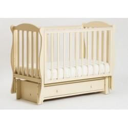 Детская кроватка Кубаньлесстрой (Лель) БИ 42.3 Кубаночка-6 (маятник продольный)