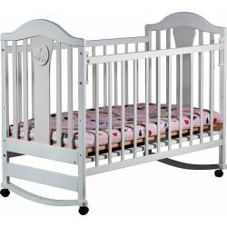 Детская кроватка для новорожденного Наполеон колесо-качалка 120x60 см
